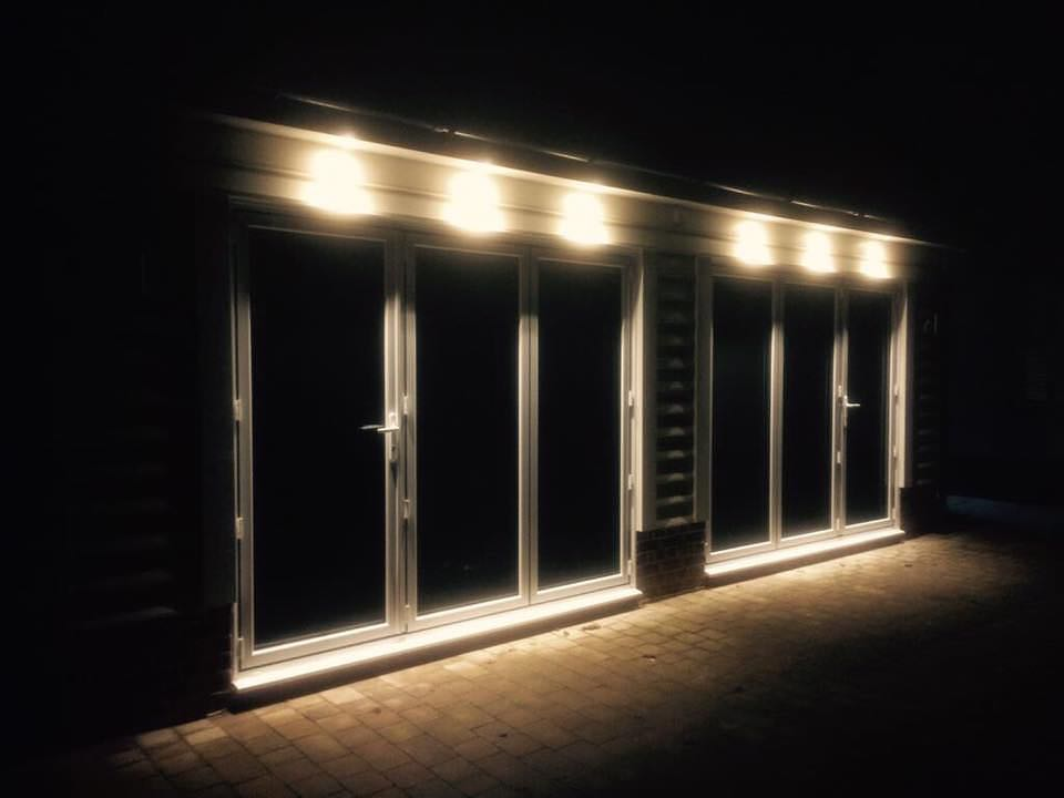 Lit Bi-fold Doors Essex