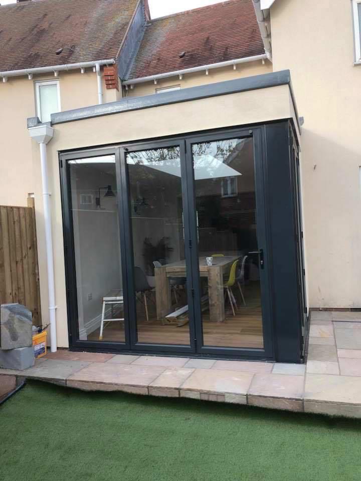 Bi-fold Door Extension
