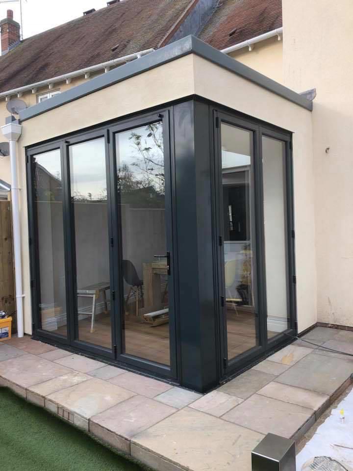Bifold Patio Door Extension