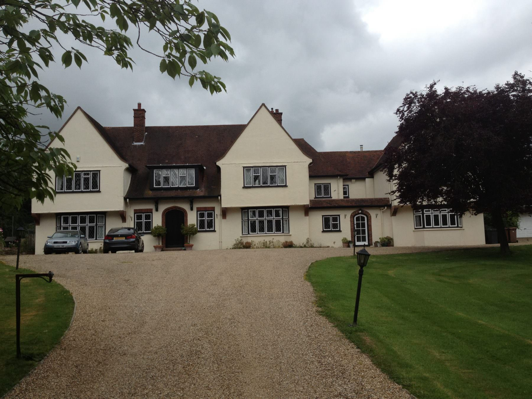 Large Double Glazed Manor House