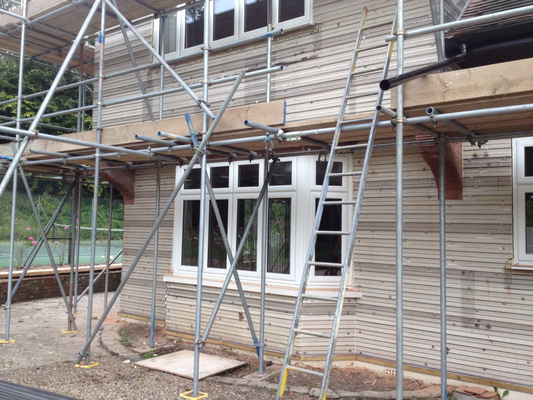 Double Glazing Scaffolding Essex