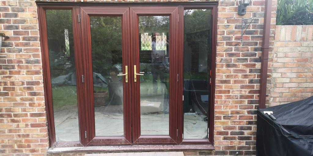 Bi-folding door installation Bishop Stortfor