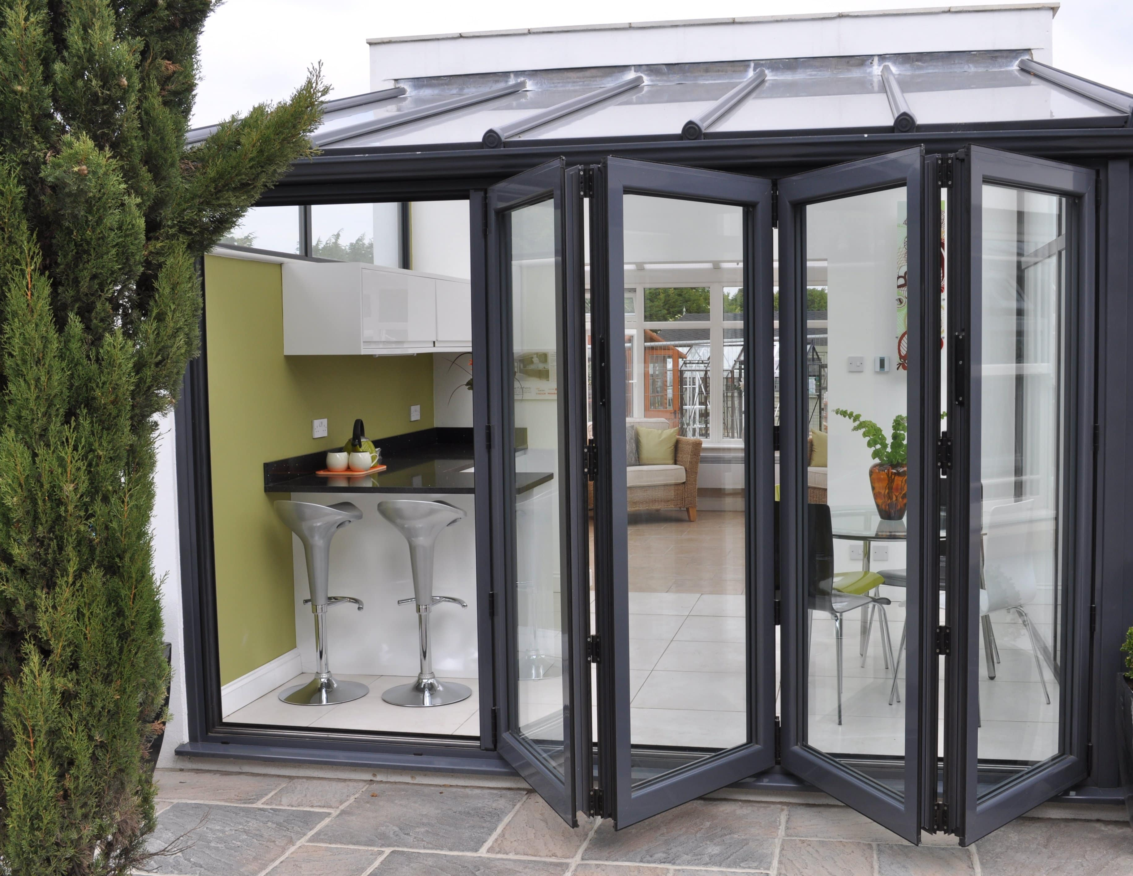 aluminium bi-fold doors dunmow